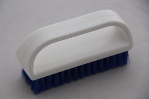 Floorsqueegees - NAIL BRUSH with grip
