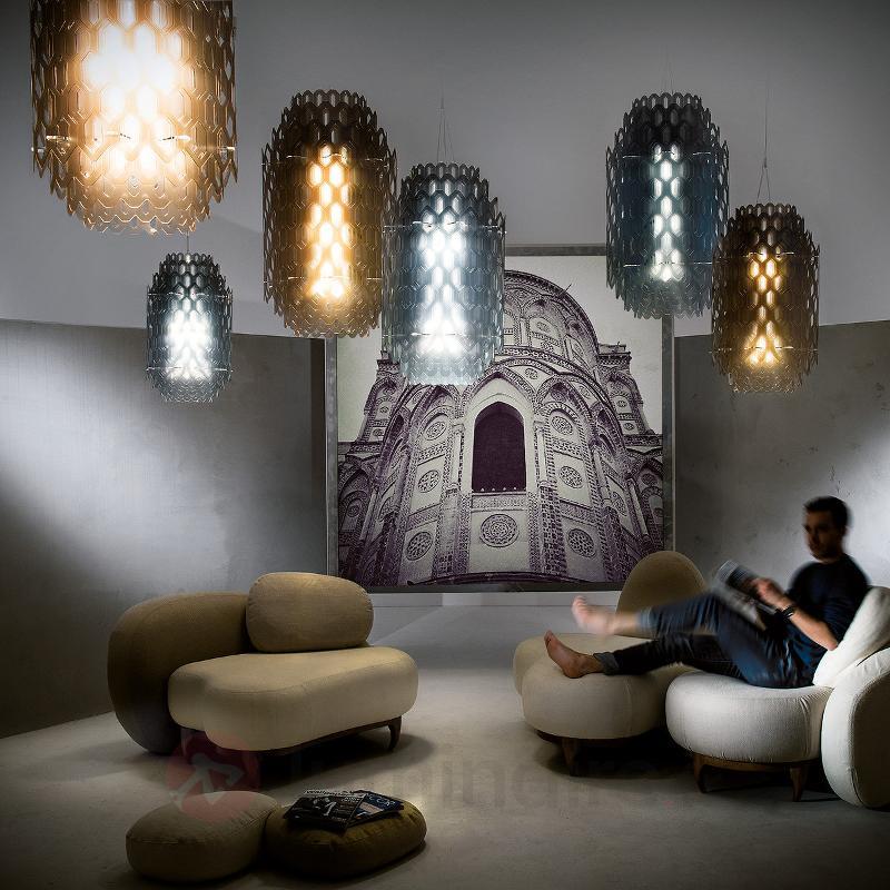 Suspension LED design Chantal, blanc - Suspensions design