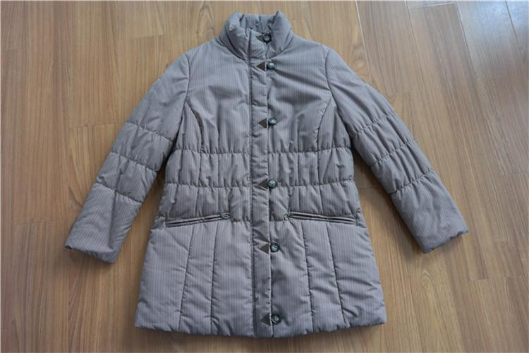 Women's medium quilting cotton coat YH16-12-W - YH16-12-W