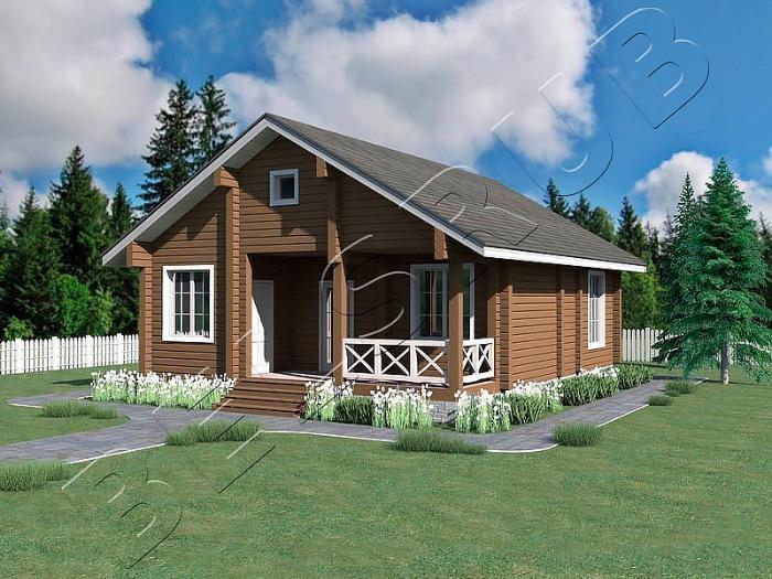Holzhaus-Flaver - Eine im Werk exakt zugesägte, verzapfte und markierte einbaufertige Konstruktio