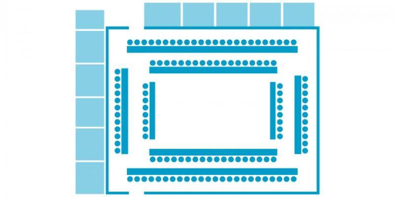Salle E - European Convention Center  - Service Evenementiel