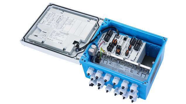 Trasmettitore a 8 canali Liquiline CM448 -