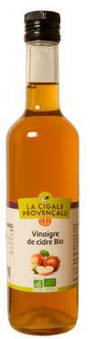 Vinaigre de Cidre Biologique  - 5 % d'acidité La Cigale Provençale