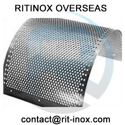 Inconel 800 Perforated Coil -