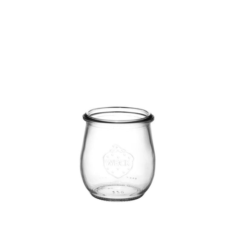 6 weck glass jars Corolle  - WECK JARS WITHOUT LID