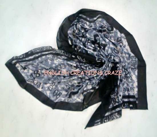 Cotton Printed Scarves - Cotton Printed Scarves