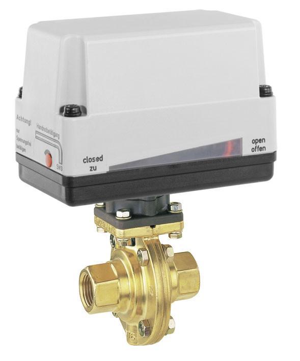 GEMÜ 428 - Motorized butterfly valve