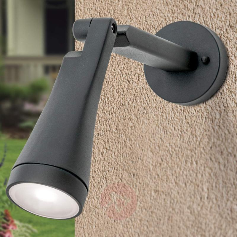 Protruding LED outdoor wall lamp Davin - Outdoor Wall Lights