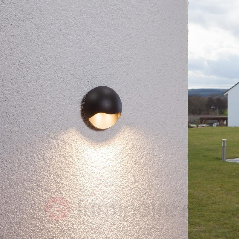 Applique d'extérieur LED Titus graphite 6 W - Appliques d'extérieur LED