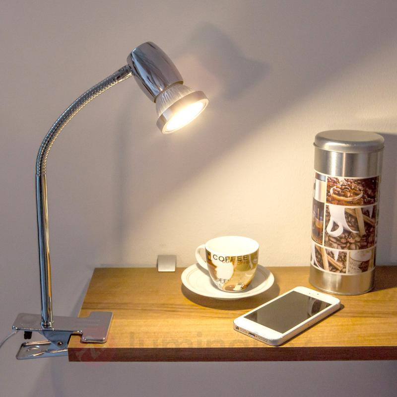 Lampe à pince Arminius avec ampoule LED GU10 - Lampes à pince