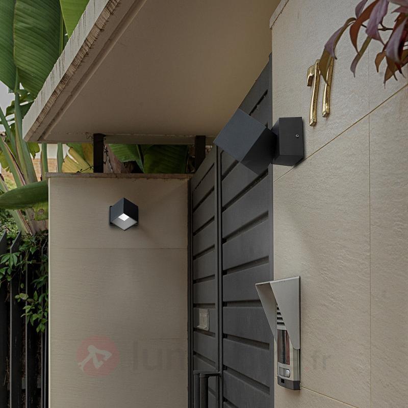 Applique extérieure LED Cubus, anthracite - Appliques d'extérieur LED
