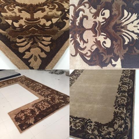 custom made rug  - hand tufted rug