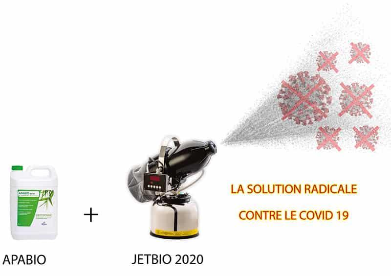 Jetbio 2020: Appareil De Désinfection Des Surfaces Pour Covid19 - Salle blanche