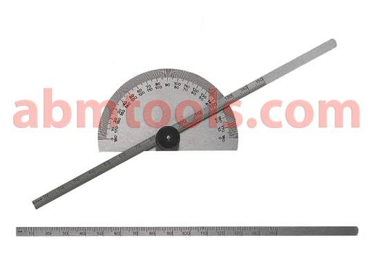 Protractor Cum Depth Gauge - Versatile tool that allows the angle and depth to be measured simultaneously.
