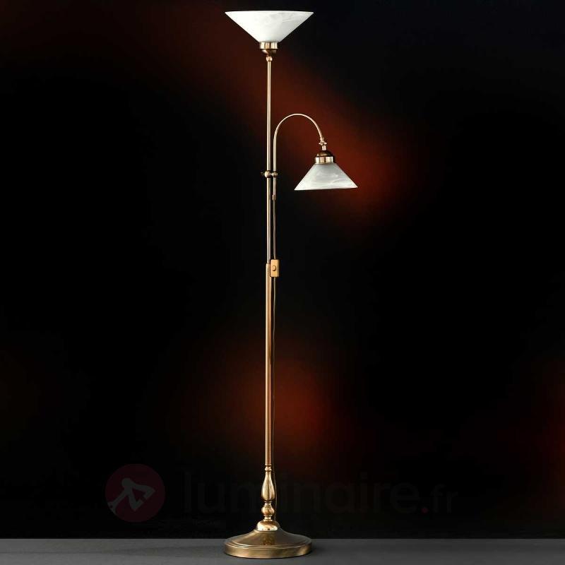 Lampadaire indirect Antwerpen avec liseuse - Tous les lampadaires