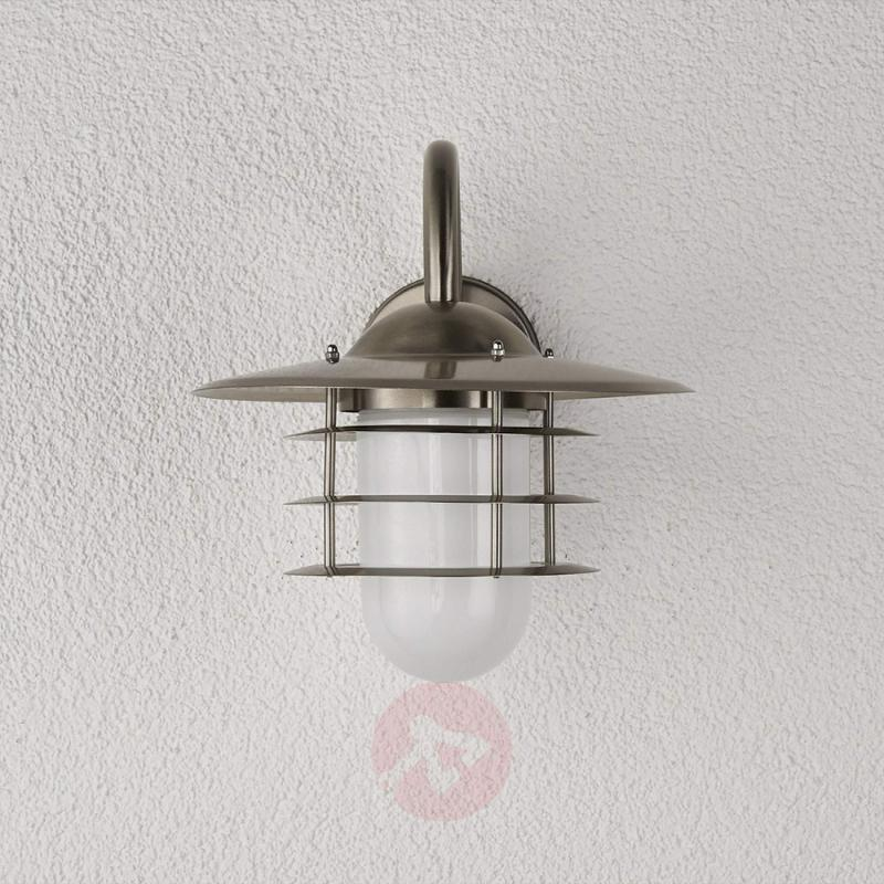 Mian Outdoor Wall Light Made of Stainless Steel - stainless-steel-outdoor-wall-lights