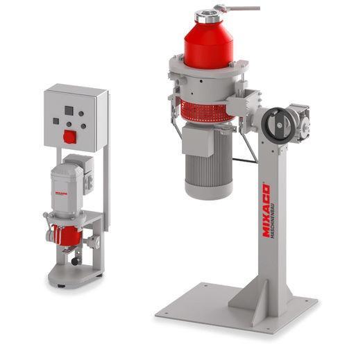 MIXACO Laboratory Container Mixer - The MIXACO laboratory container mixer is ideal for mixing small quantities.