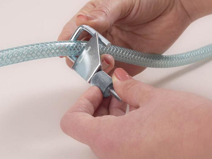 Pinza para manguera stop-it, metal - Pinza para mangueras flexibles, acero galvanizado y aluminio
