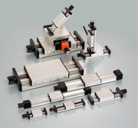 Unidades lineales de husillo RK Compact - Eje lineal de perfil