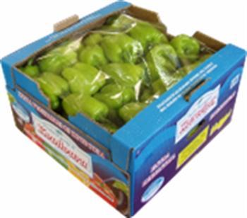 PEPPERS Green - Bull's Horn peppers