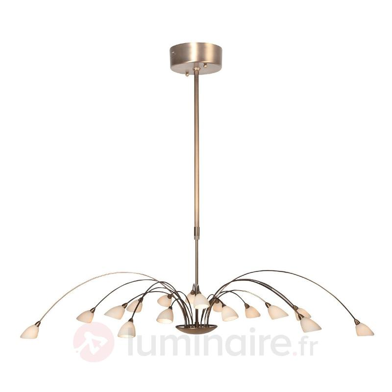 Suspension imposante Tarda à 16 lampes - Cuisine et salle à manger