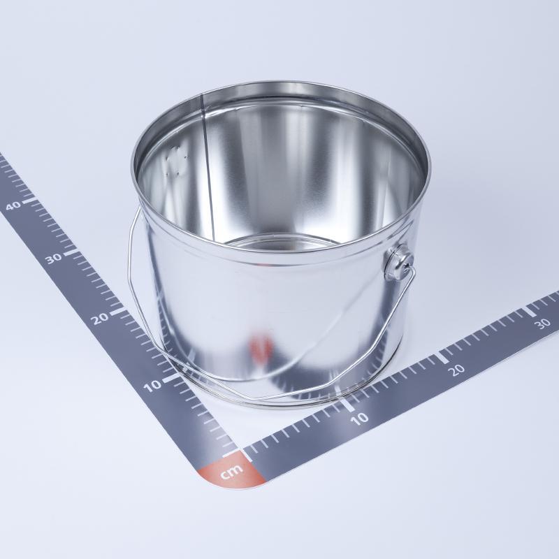 Eindrückdeckeleimer 6 Liter, Höhe 175mm - Artikelnummer 450000069000