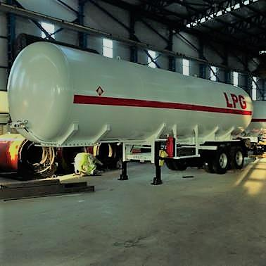 lpg trailer, tanker, storage - above and under ground lpg storage tank