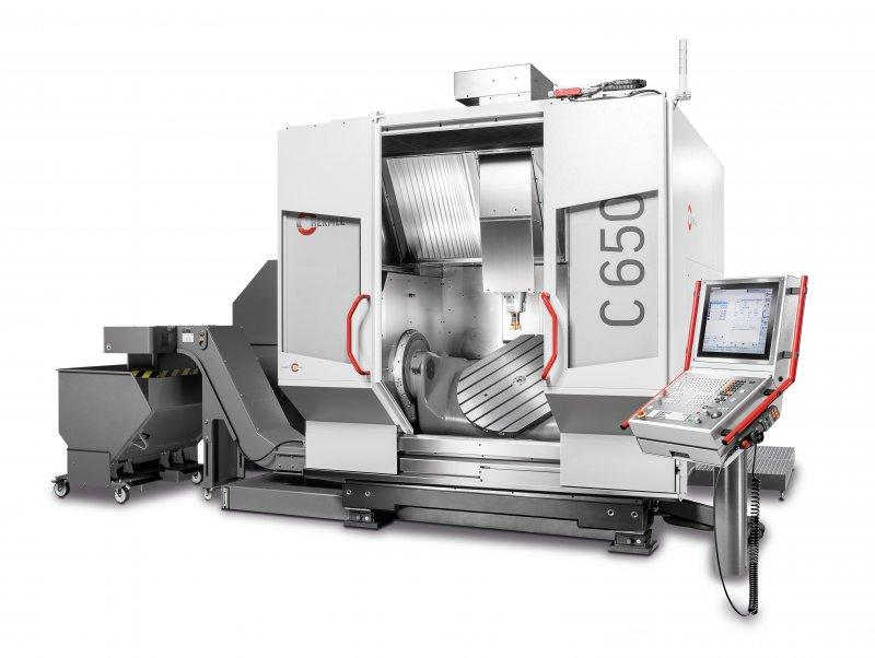 Machining Centre C 650 - The C 650 sets new standards in terms of the traverse path and load performance