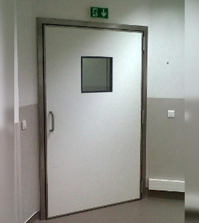 Bloc porte anti rayons X plombé SP 240X - Portes étanches et portes anti X