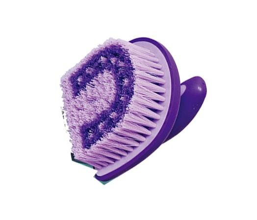 11.5×12 cm horse grooming cleaning brush,pet body brush - horse body brush / horse grooming brush/horse plastic dandy brush