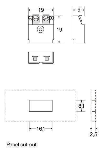 Panel Miniature Insert (PMI) - Panel Miniature Insert