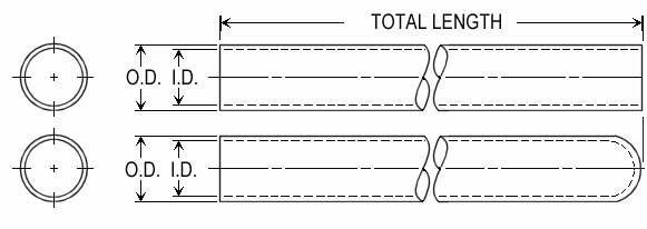 QUARTZ TUBES - Guaie in Quartz - null