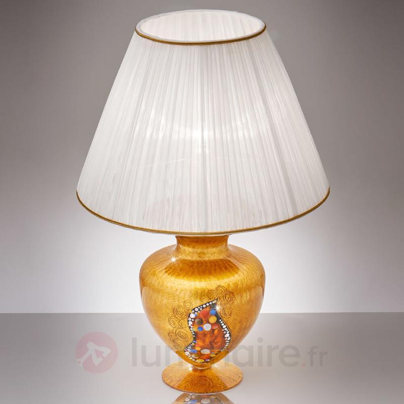 Lampe à poser KISS design Klimt - Lampes à poser designs