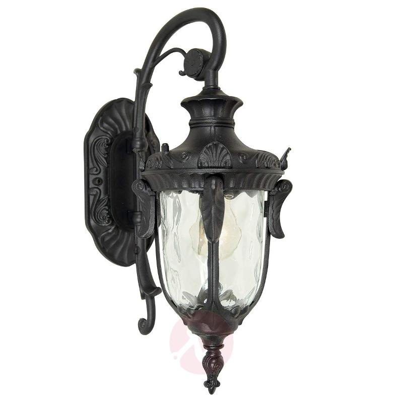 Antique outdoor wall lamp Philadelphia black - Outdoor Wall Lights