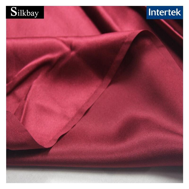 Double faces silk satin fabric - Pure Silk Fabrics