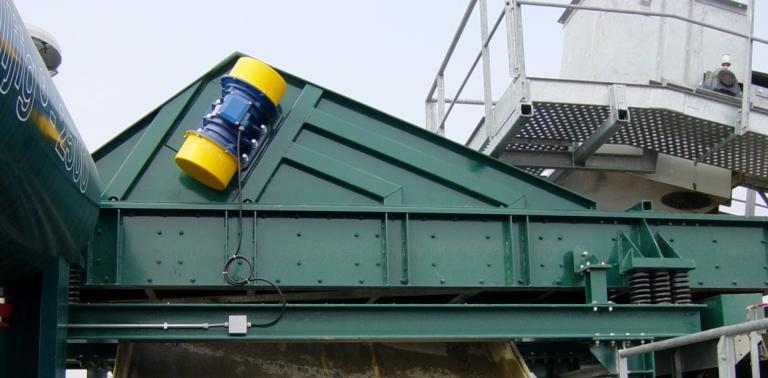Sand washing and recovery - VIBRO-DRYERS