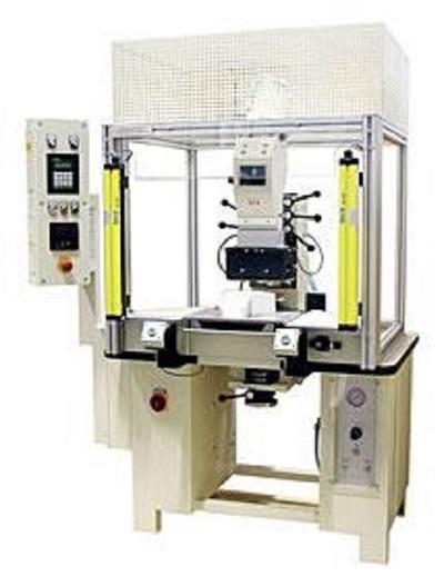Prägemaschine - Pneumatische Prägemaschine mit 50 kN Druck - Modell 889