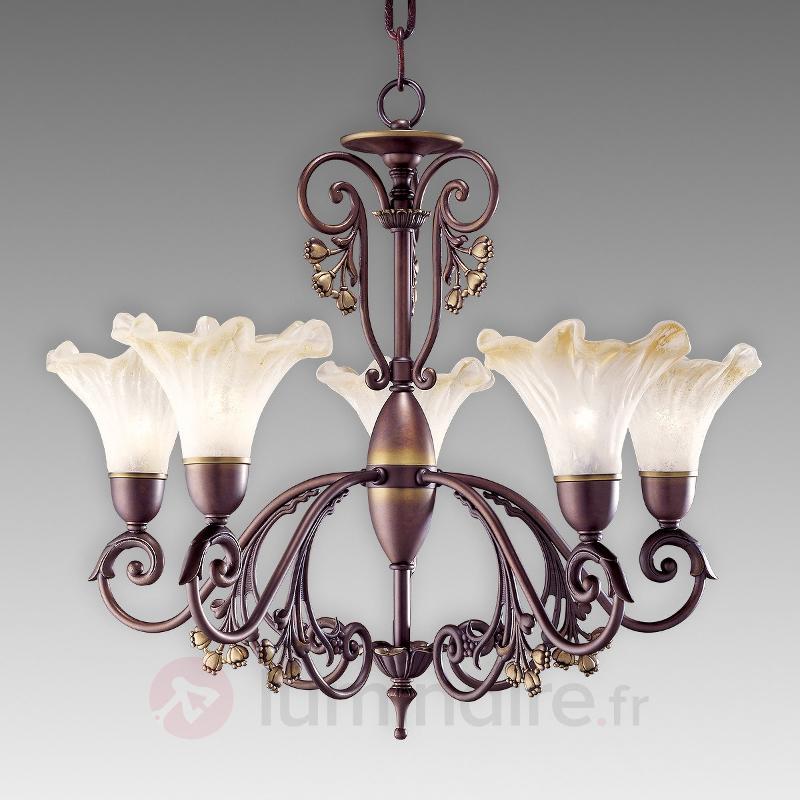 Lustre à cinq lampes Alba - Lustres classiques,antiques