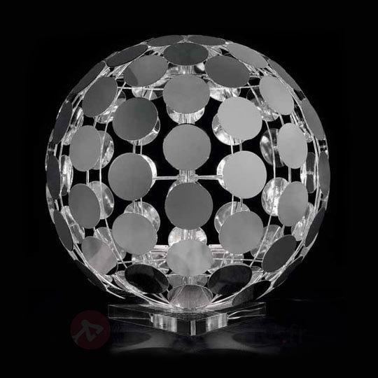 Lampe à poser SFERA avec socle en verre acrylique - Lampes à poser designs