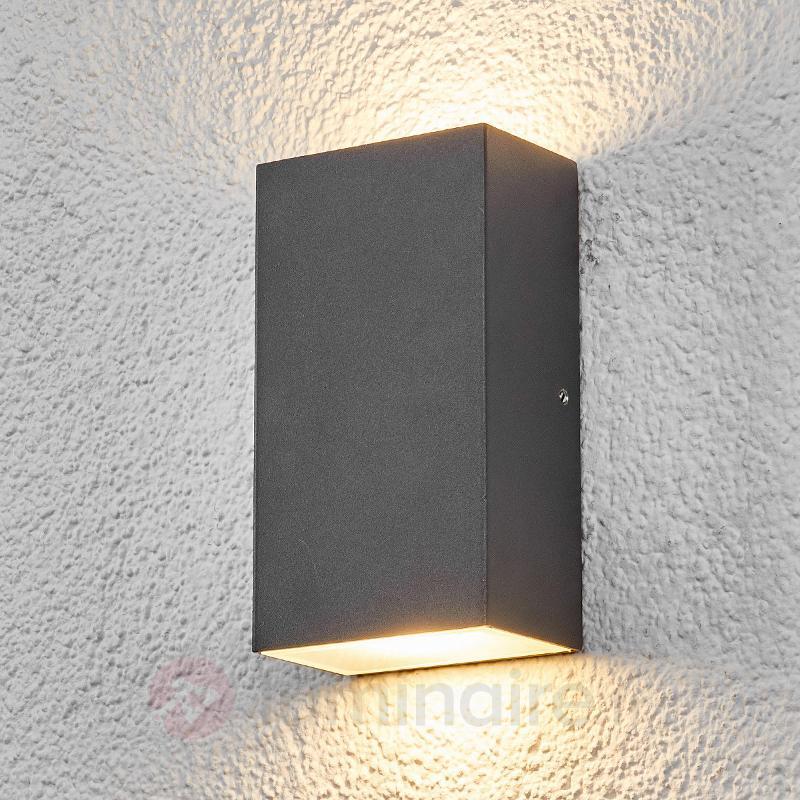 Applique d'extérieur LED carrée Weerd - Appliques d'extérieur LED