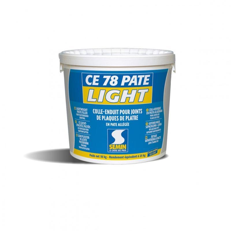 Enduit allégé pour joints de plaques de plâtre - CE 78 PÂTE LIGHT