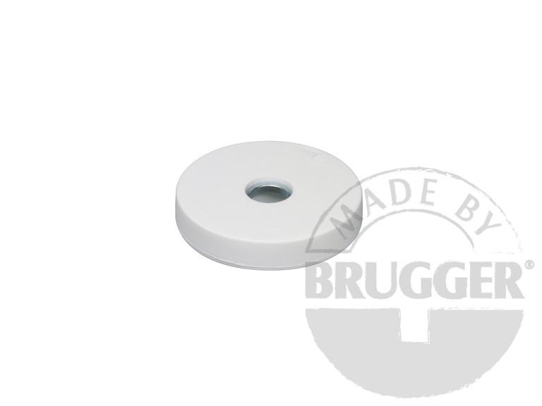 Magnet assembly, NdFeB, rubber coat white - null