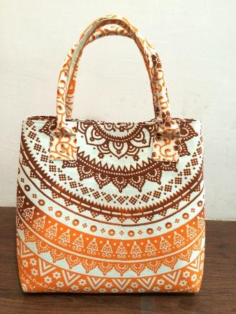 handmade cotton hobo mandala solder women Bag