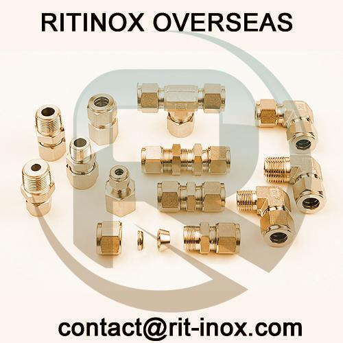 Cupro Nickel Compression Tube Fittings -