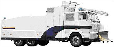 Vehicles Heavy Vehicles - 10000L WATER CANNON RIOT CONTROL VEHICLE