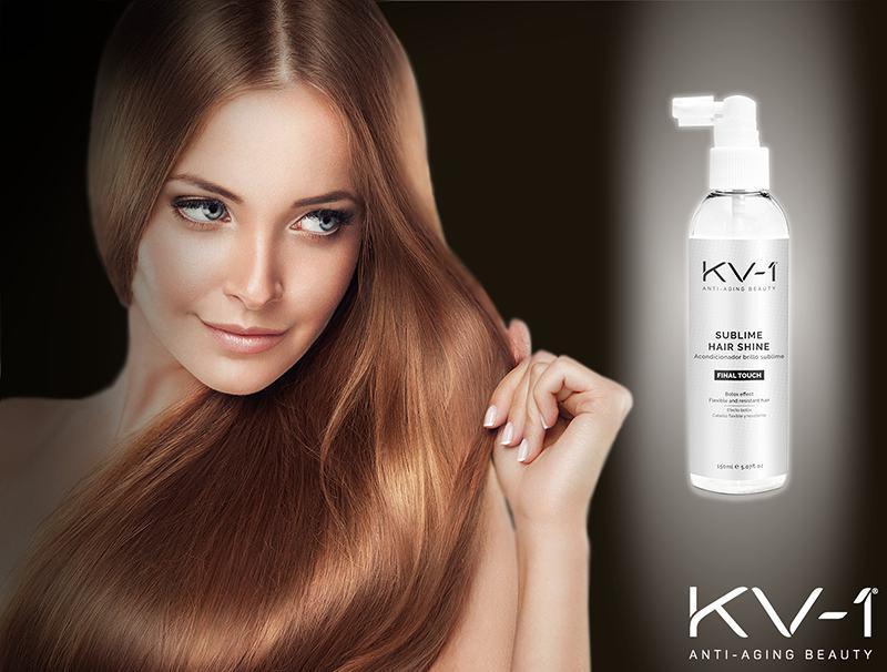 Sublime Hair Shine - Espray acondicionador desenredante con efecto brillo