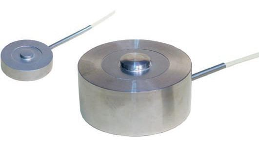 Compression load cell - 8526 - Compression load cell, compact, button type, stainless steel, robust