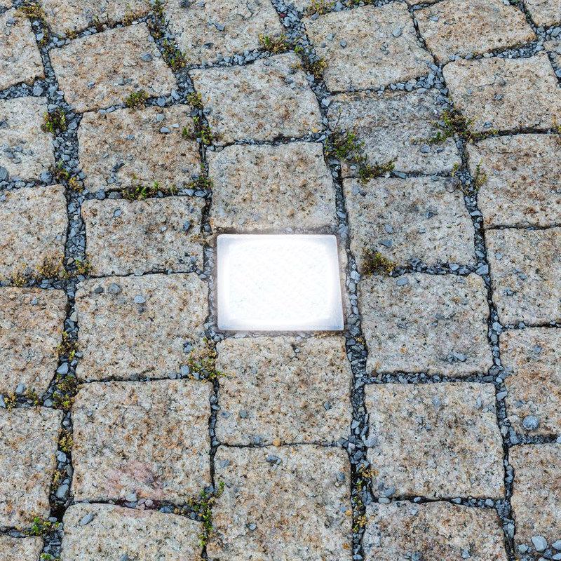 Spot encastrable LED Pavé, carrossable - Luminaires LED encastrés au sol