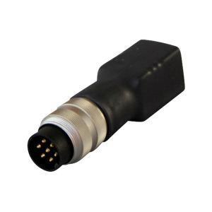 Adapter für Temperaturfühler NiCr-Ni, doppelt - null