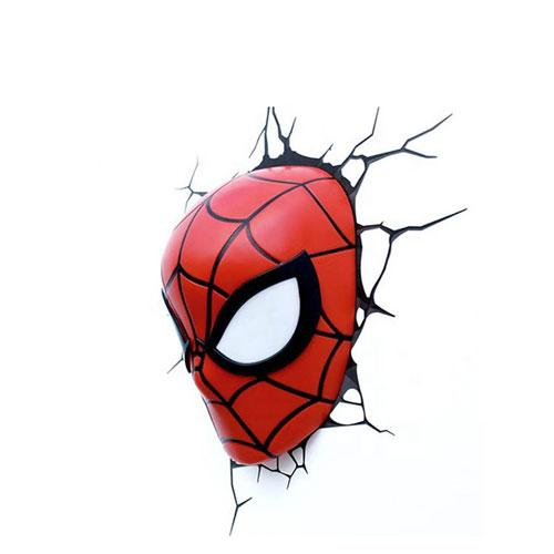OEM Marvel 3D LED Decoration Light Spiderman custom wall lamp - Home Appliance